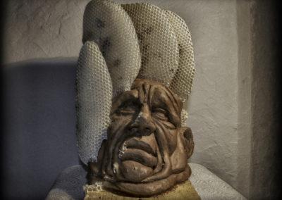 Sculpture immortalisée