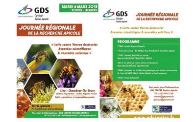 Journée Régionale de la Recherche Apicole le 6 mars